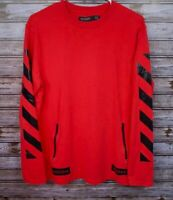 Hudson Outerwear Men's Large Graphic Red with Black Graphic Print 'BLACK'