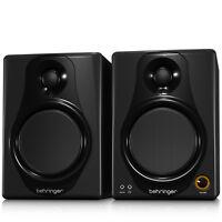 BEHRINGER MEDIA 40USB Active 40W Studio Monitor Speaker USB + Full Warranty