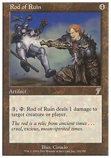 Rod of Ruin X4 FINE PLAYED 7th Edition MTG Magic Cards Artifact Uncommon