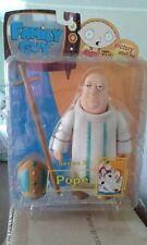 MEZCO FAMILY GUY SERIES 3 POPE FIGURE 2005 WHITE COSTUME