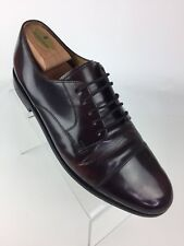 Cole Haan Men's Caldwell Oxford Derby Lace Up Shoes Size 11 Leather Burgundy