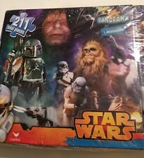 Star Wars Panorama 3 in 1 Panorama Puzzle (211 Pcs) Collectors Sealed New