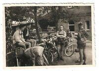 Foto, MTV Braunschweig, Vereinsmitglieder , Fahrradtour, ca. 1956