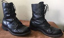 Vintage International Shoe Co Vietnam Era Combat Boots 1964 Issued Named USGI 7W
