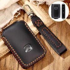 Leather Remote Key Fob Case Cover Holder For Mazda 3 6 Cx 3 Cx 5 Cx 30 2019 2020 Fits Mazda
