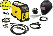 ESAB Rebel Multi-Process Welder MIG/Stick/TIG EMP 235ic  0558012702 *free helmet