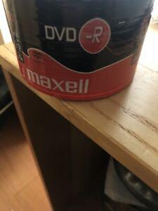 Maxell DVD - R. 50 Discs