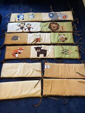 New listing Lambs & Ivy Baby Crib Protector 8 Piece Jungle $70