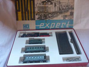 H0 PIKO Zugpackung BR55 Set mit Lok , Gleisen und Wagons / OVP