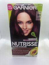 Garnier Nutrisse Nourishing Color Creme, Dark Intense Burgundy BR2