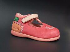 New KICKERS Toddler Girls Shoes LEATHER Fashion Size 6 USA/22 EURO.FREE RETURN