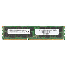 For Micron 16GB PC3-12800R DDR3 1600Mh​z 2Rx4 240Pin REG-DIMM ECC SERVER Memory