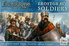FGVP01 FROSTGRAVE SOLDIERS - FROSTGRAVE - FANTASY WARGAMING - 28MM - WARHAMMER
