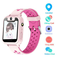Kids Waterproof Smart Watch Phone LBS/GPS Tracker Touchscreen USB Rechargeable