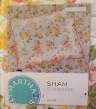 (2) Martha Stewart  Rose Cottage Standard Pillow Sham