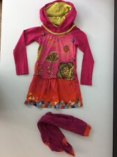 Oilily Dress & Matching Tights Outfit Set Age 6 Years Size 116