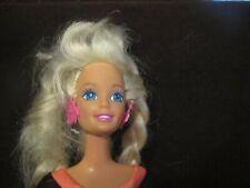 Mattel Glitter Hair Barbie Palm Tree Earrings Doll 1994