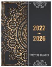 2022 2026 Planner 5 Year Monthly Calendar Organizer Journal