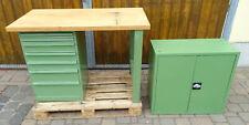 Werkbank Werktisch Schubladenschrank Werkzeugschrank Werkstattschrank Werkstatt