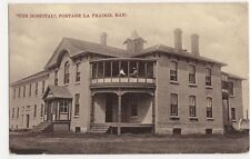 Canada, The Hospital, Portage La Prarie, Ma. 1907 Postcard, B174