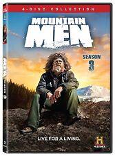 Mountain Men Complete Third Season 3 Three DVD Set Serie History Chanel Video TV