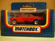 MATCHBOX MB39 BMW Cabriolet 323i - Red  Boxed