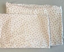 Simply Shabby Chic Flat Sheet Twin with Pillow Case Mon Ami Pink Rose Floral