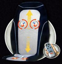 Super Motion Back Massage Shiatsu Cushion Heat Rolling Chair Lounger Kneading