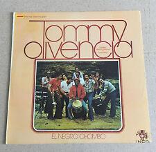 "LP 12"" VINYL LATINO SALSA TOMMY OLIVENCIA EL NEGRO CHOMBO CANTAN GUZMAN PEREZ"