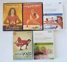 Yoga, Meditation, Yoga teaching plan, Mudra, Relaxation Dvds set of 5 Brand New