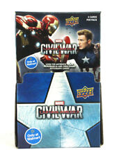 2016 Upper Deck Captain America Civil War Trading Cards 36 Packs Counter Display