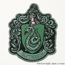"""HARRY POTTER """"SLYTHERIN"""" EXTRA LARGE Embroidered Robe Patch"""