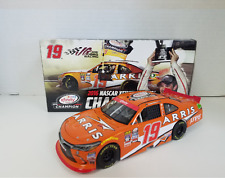 NASCAR 2017 RELEASE DANIEL SUAREZ # 19 ARRIS XFINITY CHAMPIONSHIP CAR 1/24
