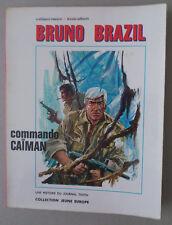 VANCE  ***  BRUNO BRAZIL 2. COMMANDO CAÏMAN   ***  EO JEUNE EUROPE 1970