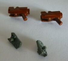 4 x LEGO® 32828 Technik Stein,Stab 1 Loch,Kelle beige wie auf dem Foto.
