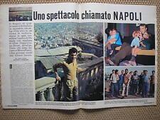 NAPOLI 1965 CALCIO SPETTACOLO SIVORI CANE ALTAFINI JULIANO MONTEFUSCO SORRISI TV