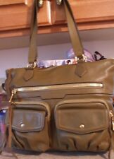 60% OFF NWOT Aimee Kestenberg Steph Leather Shoulder Bag, OLIVE GREEN,A266042
