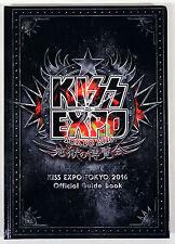 2016 Official KISS Expo Tokyo Hard Cover Book