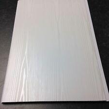 White Ash Wood Bathroom Wall Panels Cladding Ceiling PVC Shower Waterproof 5mm