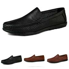 Pumps Slip on Loafers Hollow out Breathable Casual Driving Moccasins Shoes Zha19
