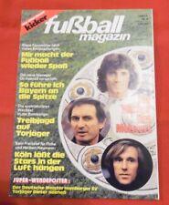 Kicker Fußball Magazin 1979 Nr 4 , mit Super-Wendeposter Dieter Hoeneß , TOP