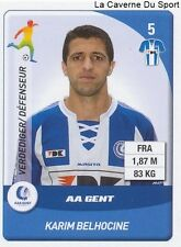 N°110 BELHOCINE # FRANCE KAA.GENT STANDARD LIEGE STICKER PANINI PRO LEAGUE 2015