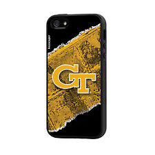 "Georgia Tech Yellow Jackets IPHONE 5/5S ""Upgrade"" Rugged Cell Phone Case - 2 pc"