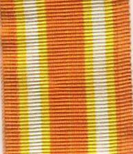 190 Nastrino per la medaglia Pontificia di Castelfidardo 1860