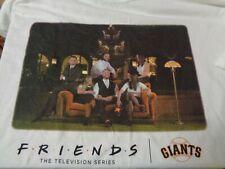 SF Giants Friends TV Series 25th Anniversary Shirt New Size XL