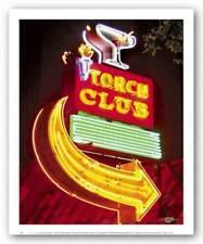 The Torch Club Larry Grossman Art Print 10x8