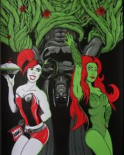 BATMAN SIRENS BY MATTHEW JOHNSON NYCC NOT MONDO PRINT SOLD OUT HARLEY QUINN IVY