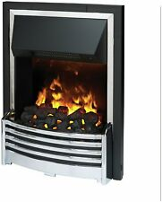 Dimplex Flagstaff Optimyst 2kW Inset Electric Fire - Chrome
