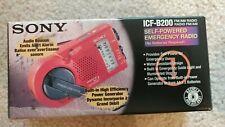 Sony ICF-B200 self-powered emergency radio,new