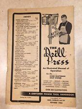 Craftsman 9-2921 Drill Press Manual